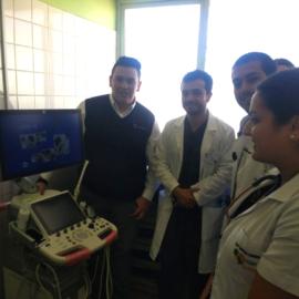 Ecografos Chile entrega equipo GE Logiq P9 a Hospital de Andacollo