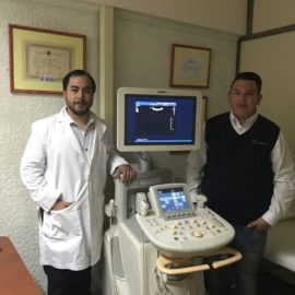 Ecografos Chile entrega equipo Philips IU22 en Arica