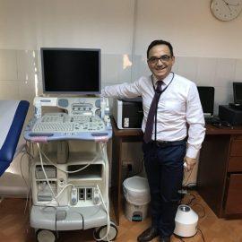 Ecografos Chile entrega equipo Cardiológico GE Vivid 7 a Clinical Trial